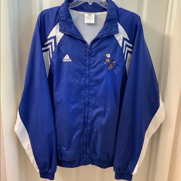 Adidas Morehead State University Full Zip Jacket L